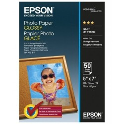 EPSON fotopapír C13S042545/ 13x18cm/ Lesklý/ 50ks
