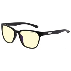 GUNNAR herní brýle BERKELEY / obroučky v barvě ONYX / jantarová skla