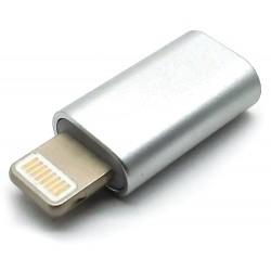 XtendLan Adaptér Apple Lightning (M) na Micro USB  (B typ, F), pasivní,  data a napájení