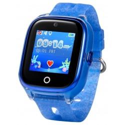 CEL-TEC KT01 Dětské hodinky s GPS lokátorem a fotoaparátem/ modré