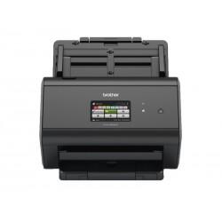BROTHER stolní skener dokumentů ADS-2800W / A4 / Skener / 1200 x 1200 dpi / USB / RJ-45 /  dotykový display 9,3 cm