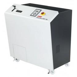 HSM skartovač harddisků Powerline HDS 150/ příkon 1500W/ 1300 x 1200 x 825 mm/ objem 40l/ napájení 230V/ bílo-šedý