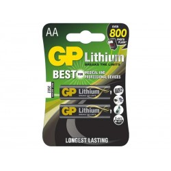 GP lithiová baterie 1,5V AA (FR6) 2ks blistr