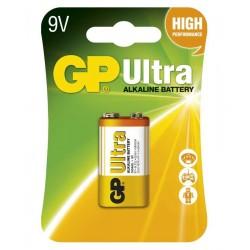 GP alkalická baterie 9V (6LF22 ) Ultra 1ks blistr