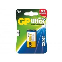 GP alkalická baterie 9V (6LF22) Ultra Plus 1ks blistr