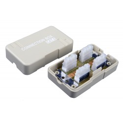 Solarix Spojovací box CAT6 UTP 8p8c LSA+/Krone, KRJ45-VEB6