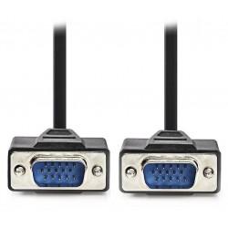 NEDIS kabel VGA (D-SUB)/ zástrčka VGA - zástrčka VGA/ černý/ 5m