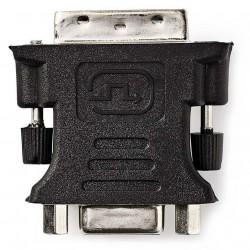 NEDIS adaptér DVI - VGA/ 24+5pinová zástrčka DVI-I - zásuvka VGA/ černý