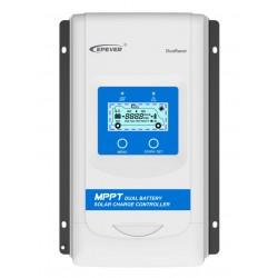 EPsolar DR1206-DDS solární MPPT regulátor 12/24 V, DuoRacer 10A, vstup 60V