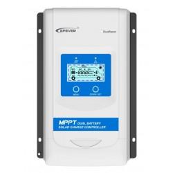 EPsolar DR2210-DDS solární MPPT regulátor 12/24 V, DuoRacer 20A, vstup 100V