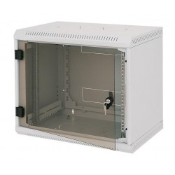 Triton 19' rozvaděč jednodílný 18U/500mm vylamovací otvor pro ventilátor RAL7035, šedý