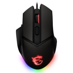 MSI herní myš CLUTCH GM20 ELITE/ 6.400 dpi/ RGB podsvícení/ 6 tlačítek/ USB