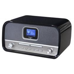 Soundmaster DAB970SW DAB+/ FM/AM rádio/ BT/ CD/MP3 / Černo-Stříbrné
