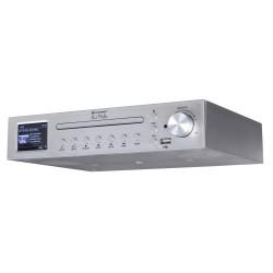 Soundmaster Elite line ICD2200SI kuchyňské rádio DAB+/ FM/ BT/ CD/ USB/ Stříbrné