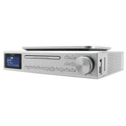 Soundmaster EliteLine UR2195SI kuchyňské rádio s DAB+/FM/ BT/ CD/MP3/ USB/ Stříbrné