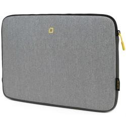 "DICOTA pouzdro pro notebook Skin FLOW / 13-14,1""/ šedé/žluté"