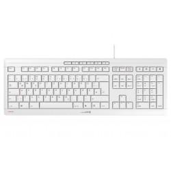 CHERRY klávesnice STREAM / drátová/ USB/ bílá/ CZ+SK layout