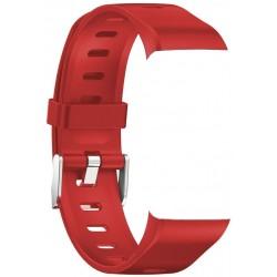 IMMAX řemínek pro chytrý náramek TEMP FIT červený