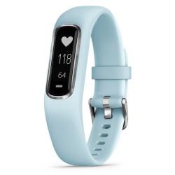 GARMIN fitness náramek vivoSmart4 Optic Blue/Silver (velikost S/M)