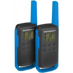 Motorola TLKR T62 modrá vysílačka (2 ks, dosah až 8 km)