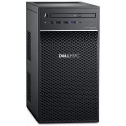 DELL PowerEdge T40/ Xeon E-2224G/ 16GB/ 2x 480GB SSD RAID 1 + 2x 2TB (7200) RAID 1/ DVDRW/ 3x GLAN/ 3Y PS NBD on-site