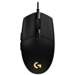 Logitech herní myš G102 LIGHTSYNC/ optická/ 6 tlačítek/ 8000dpi/ USB/ černá