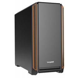 Be quiet! skříň SILENT BASE 601 / MidT / bez zdroje / 1x USB2.0 + 2x USB3.0 / regulátor otáček / oranžová