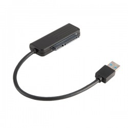 AKASA USB3.1 adaptér pro SSD/HDD / AK-AU3-07BK / 20cm