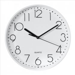 HAMA nástěnné hodiny PG-220/ průměr 22 cm/ tichý chod/ 1x AA baterie/ bílé