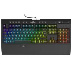 HAMA uRage gamingová mechanická klávesnice Exodus 900 Blue/ drátová/ podsvícená/ USB/ CZ+SK/ černá