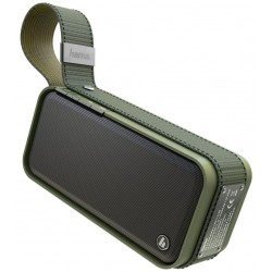 HAMA mobilní reproduktor Soldier L/ 20W/ Bluetooth/ USB/ IPX7/ olivový