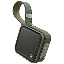 HAMA mobilní reproduktor Soldier S/ 5W/ Bluetooth/ USB/ IPX7/ olivový