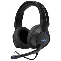 HAMA uRage gamingový headset SoundZ 400/ drátová sluchátka + mikrofon/ USB/ citlivost 115 dB/ černý