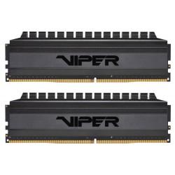 PATRIOT Viper 4 Blackout Series 16GB DDR4 3600 MHz / DIMM / CL18 / Heat shield / KIT 2x 8GB