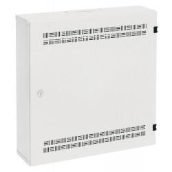 Solarix rozvaděč SOHO LC-18 s lištami 2U, 4U a 11U, 550x550x150mm, bílá RAL 9003