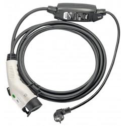 TRX Akyga Odolná nabíječka pro elektromobily/ Type 1 Yazaki J1772/ Schuko CEE 7/4/ 16A/ 3,8kW/ 5m