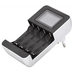 HAMA nabíječka baterií/ Delta LCD Premium/ pro AA/AAA