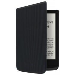 POCKETBOOK pouzdro pro Pocketbook 616, 627, 628, 632, 633/ černé (pruhované)