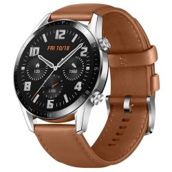 Huawei chytré hodinky Watch GT 2 Brown Leather Strap