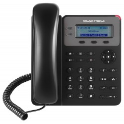 Grandstream GXP1615 VoIP telefon   1x SIP účet, HD audio, 3 program.tlačítka, switch 2xLAN 10/100Mbps, PoE