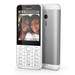 "Nokia 230 Dual SIM   2,8""/16MB RAM/2Mpx/ bílá/stíbrná"