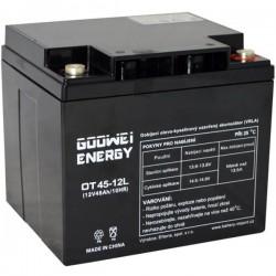 GOOWEI ENERGY Pb záložní akumulátor VRLA GEL 12V/45Ah (OTL45-12)