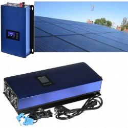 GWL/POWER GridFree 2000M solární elektrárna: 2kW měnič s limiterem + 8x 320Wp solární panel, mono, černý