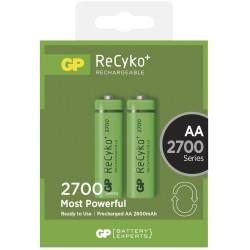 GP nabíjecí baterie AA NiMH 2700mAh Recyko+ 2ks blistr