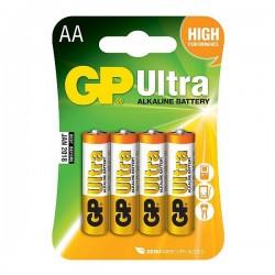 GP alkalická baterie 1,5V AA (LR6) 4ks blistr