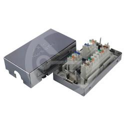 Solarix Spojovací box CAT5E STP 8p8c LSA+/Krone,