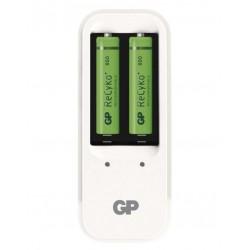 GP nabíječka baterií PB410 + 2x AAA NiMH 850mAh Recyko+