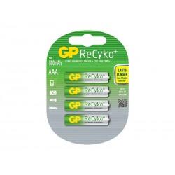 GP nabíjecí baterie AAA NiMH 800mAh Recyko+ 4ks blistr