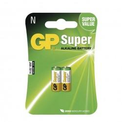 GP alkalická baterie 910A (N) LR1 2ks blistr
