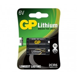 GP lithiová baterie 6V 2CR5 1ks blistr